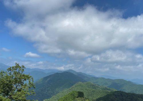 岩茸石山・棒ノ折山