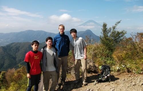 箱根山域の明神ヶ岳